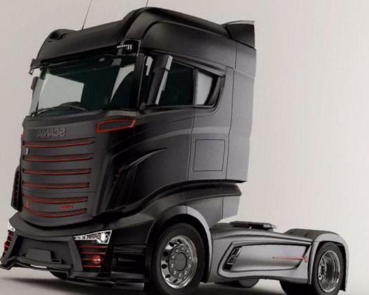 Новый грузовик Scania (Скания) R800